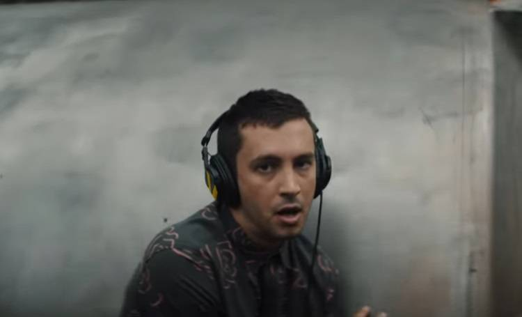 Tyler Joseph wearing some of headsets