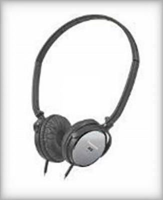 Panasonic RPHC101K Slim Z Noise Cancelling Headphones