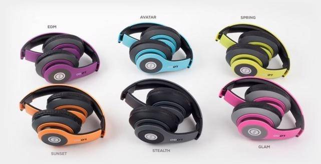 With iJoy Matte Rechargeable Wireless Bluetooth headphones