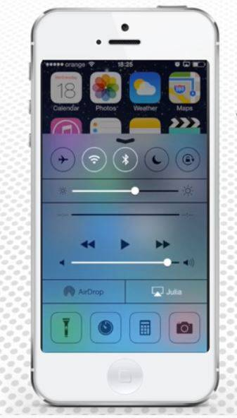 Media Volume control center showing that Apple minds the safe iPhone volume level