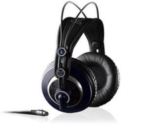 The AKG K240 MKII Headphones he a times wears in studio