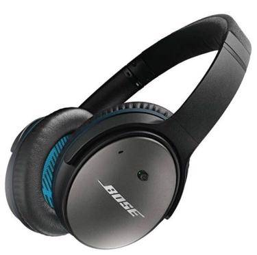 The Bose QuietComfort 25 headphones