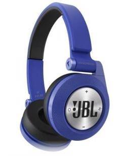 In most cases, he uses JBL Synchros E40BT Headphones