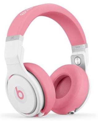 Pink Beats Solo 2 WIRED On-Ear Headphone