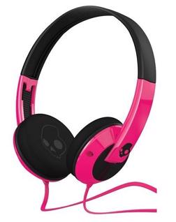 Skullcandy Uprock Pink Headphones are good for ladies