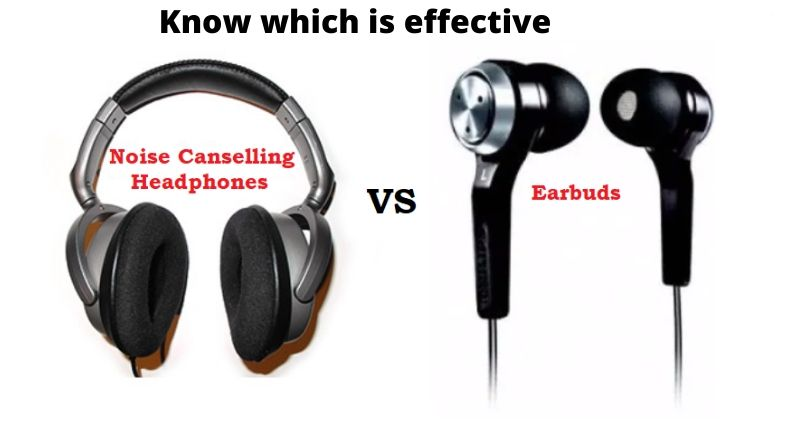 Noise Cancelling headphones vs earplugs