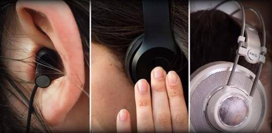 The Difference between In-ear vs On-ear vs Over-ear Headphones