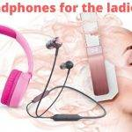 Pink Bluetooth Headphones for Ladies