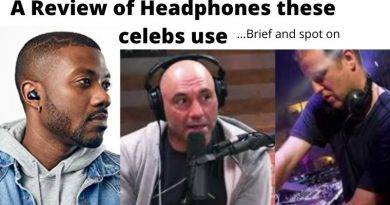 Headphones that Ray J, Joe Rogan, and DJ Sasha use