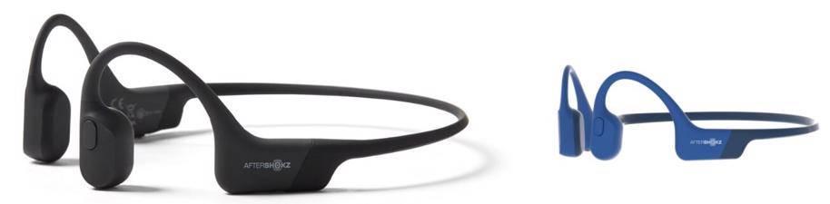 AfterShokz Aeropex Open-Ear Wireless headset for big ears