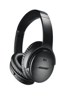 Bose Quiet Comfort 35 comfortable for small headed people