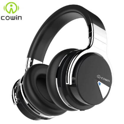 Cowin E7 budget headphones fitting on small heads