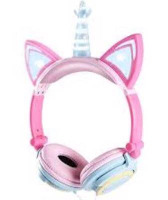Veroras Unicorn kids headphones