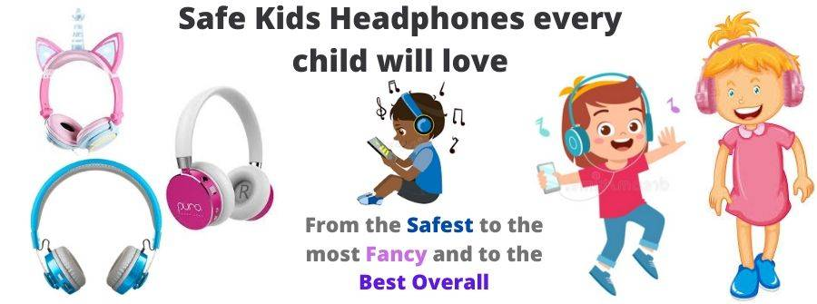 Best Wireless Kids Headphones Safe For Toddlers And Tweens