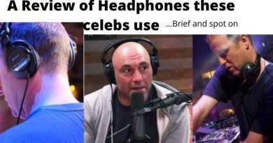 Joe Rogan Headphones and DJ Sasha Headphones