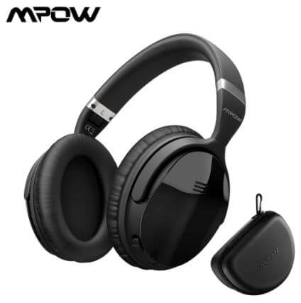 Mpow H5 Cheap Noise Cancelling Headphones for work