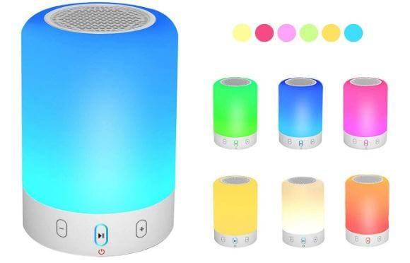 VOCH Night Light bedroom Bluetooth Speaker
