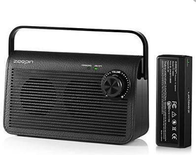 An ALBOHES Portable TV Soundbox good for seniors