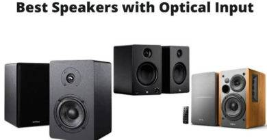 Best Speakers with Optical Input