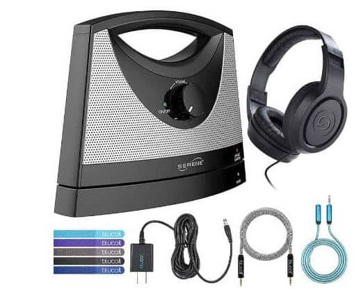 Serene Wireless TV Speaker for hearing impaired