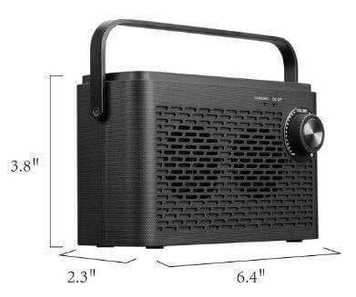 Sophinique TV SoundBox usable by hearing impaired people