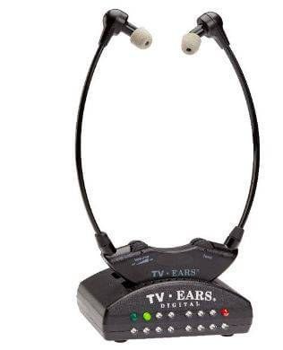 TV Ears Headsets System for listening to TV