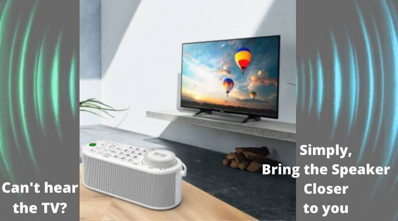 wireless TV Speakers for hard of hearing