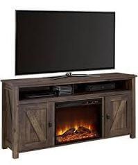 Ameriwood TV Console with a rustic appeal