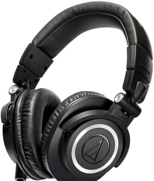Audio-Technica ATH-M50x best noise cancellation