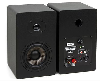 Micca PB42X Bookshelf Speakers with a smooth treble