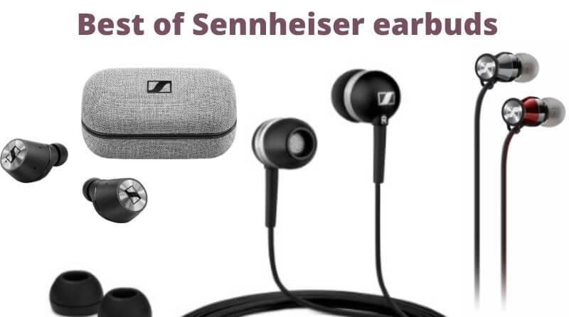 Sennheiser Earbuds, Earphones and Monitors