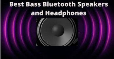 Best Bass Bluetooth Speakers and Headphones