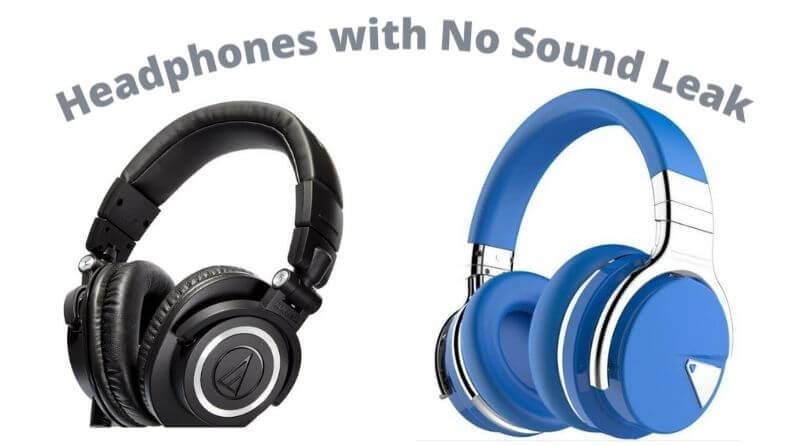 Headphones that Don't Leak Sound