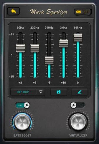 Increase Bass on Headphones or Speakers.