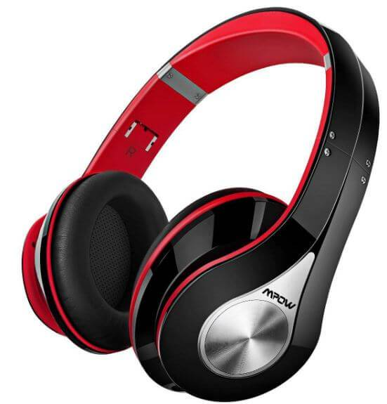 Mpow 059 Bluetooth Headphones has wired and wireless modes