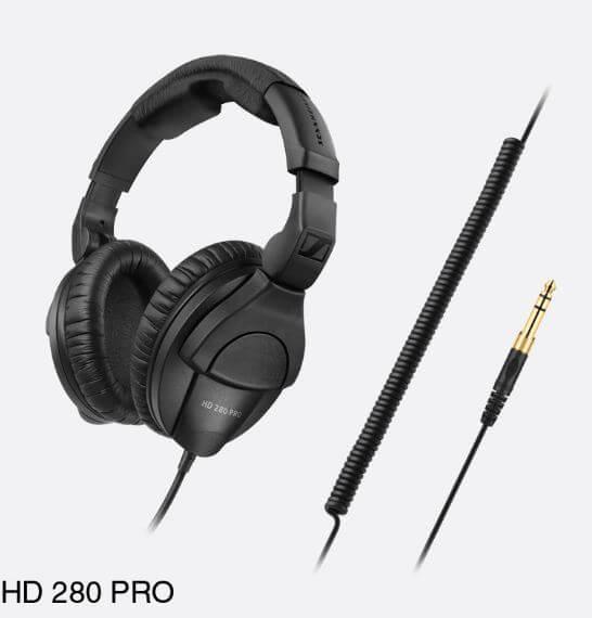 Sennheiser HD280PRO lightweight and comfortable