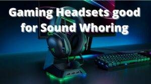 Headphones for Sound Whoring