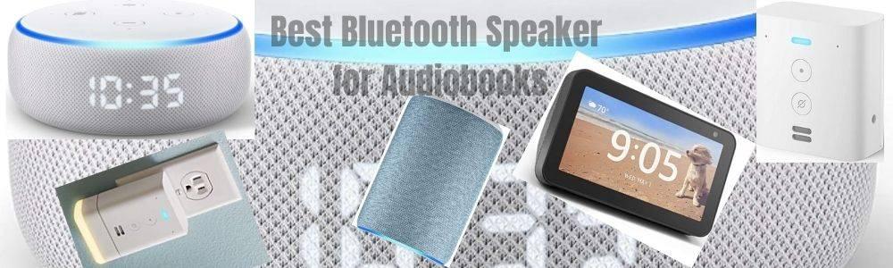 Best Bluetooth Speaker for Audiobooks
