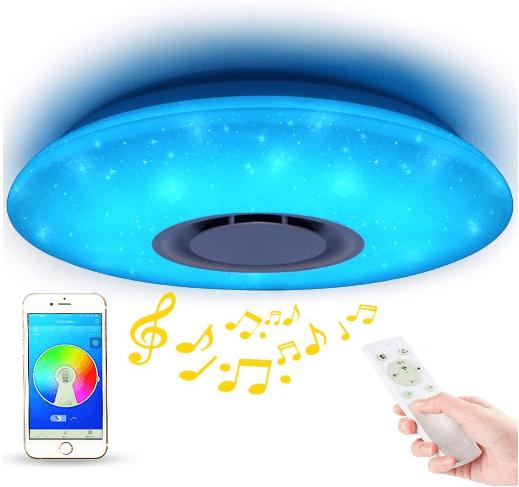 Starlight Music Ceiling Light