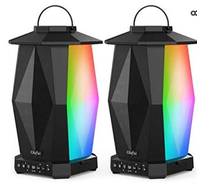 olafus outdoor wireless lantern